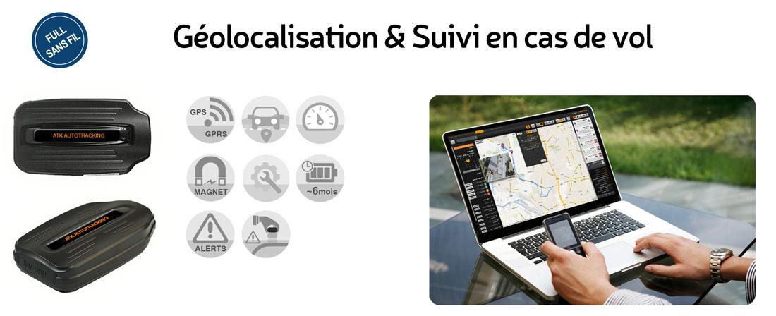 Vol Géolocalisation Autotracking